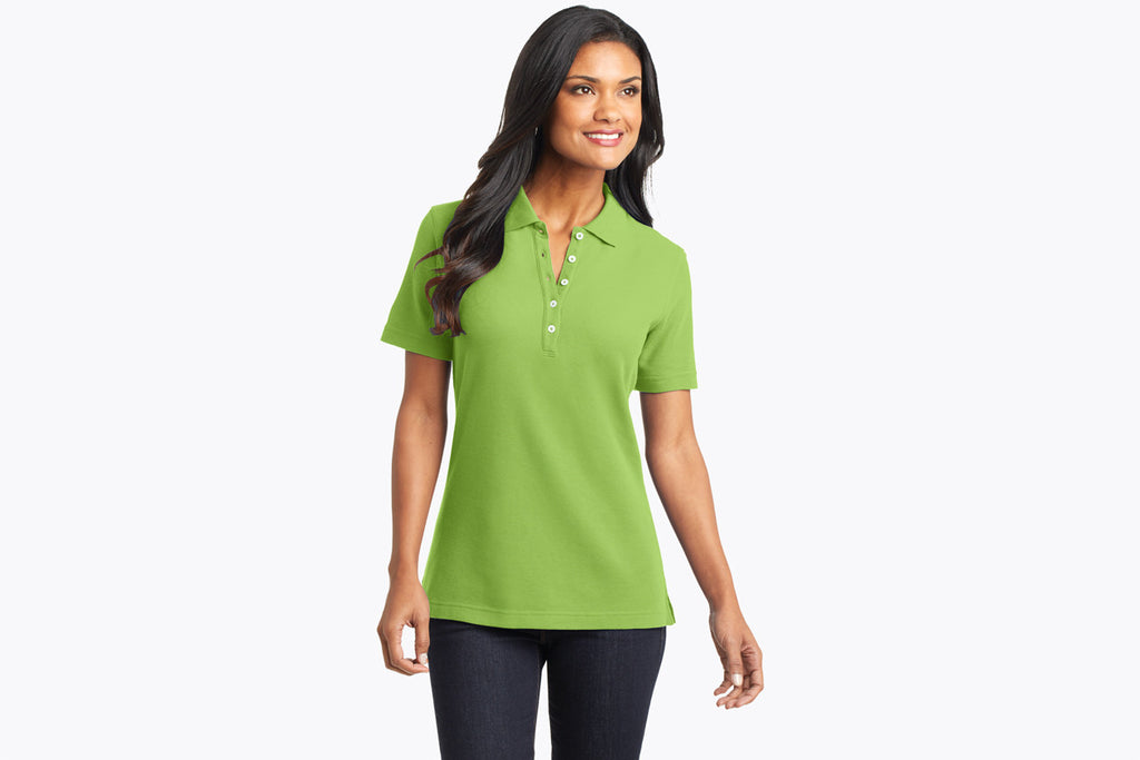 Port Authority Ladies EZCotton Pique Polo. L800 - WUE INC