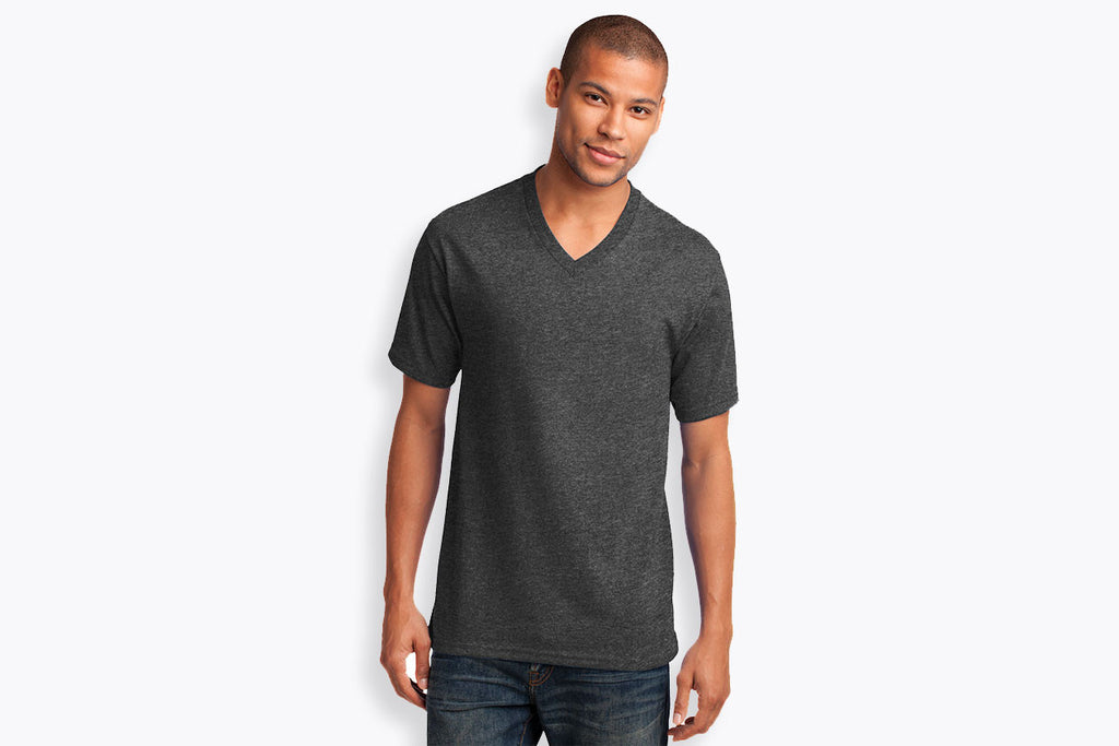 Port & Company Core Cotton V-Neck Tee. PC54V - WUE INC