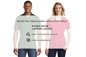 Sport-Tek  PosiCharge  Competitor Polo ST550 - WUE INC