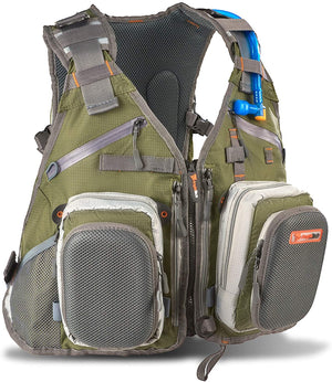 Anglatech Fly Fishing Backpack with Water Bladder Adjustable for Men and Women