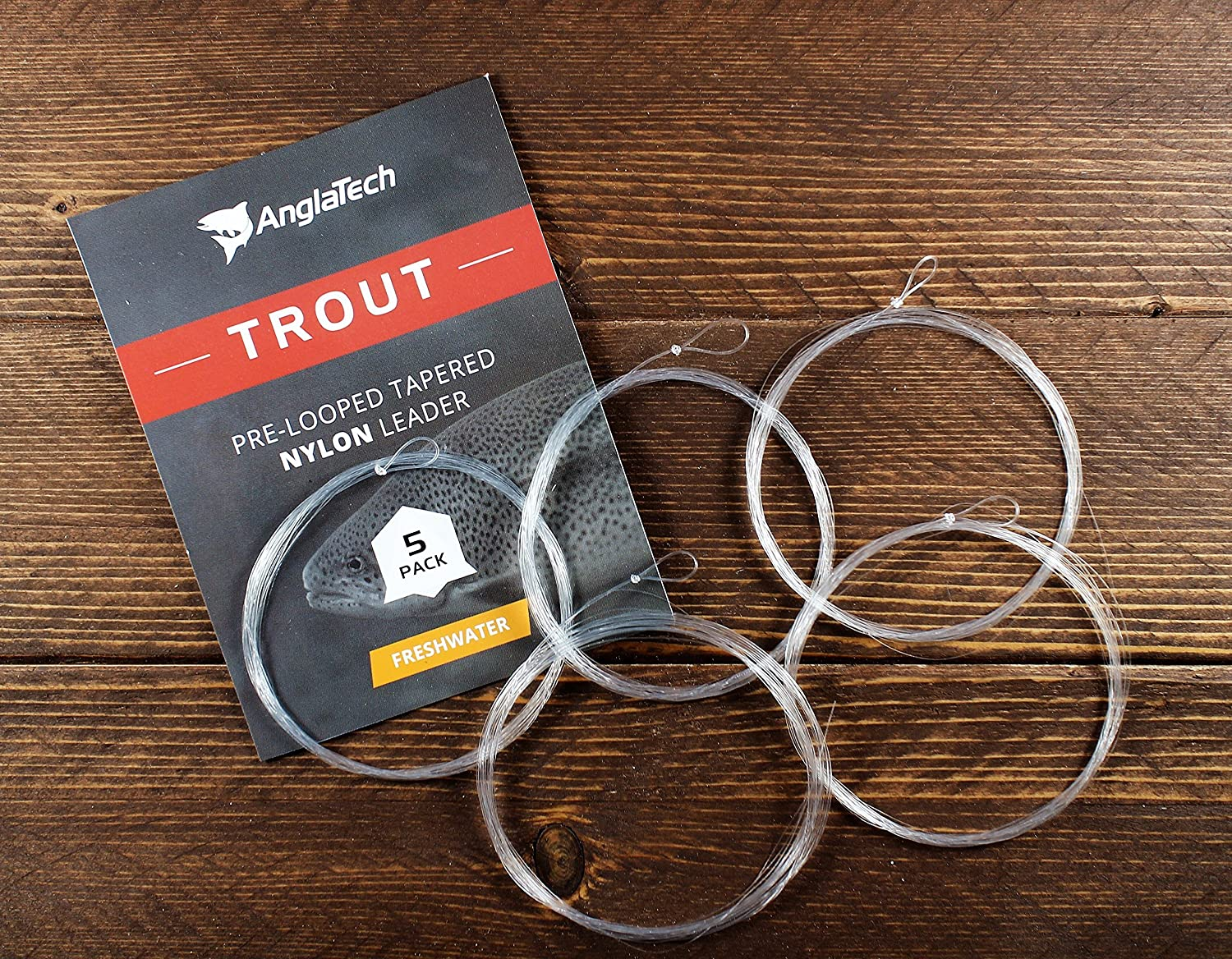 Anglatech Double Taper Floating Fly Fishing Line DT 4 5 6 WT Welded Loops
