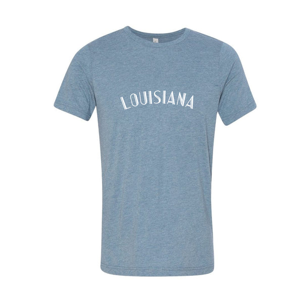 Louisiana Denim Triblend Tee