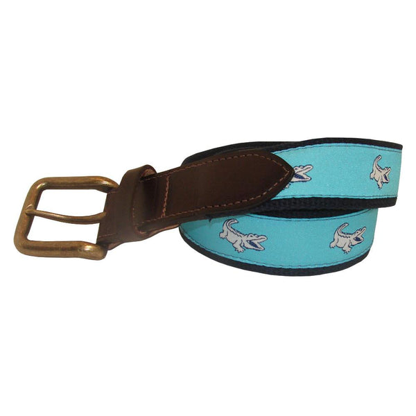 Caribbean Blue NOLAgator Club Belt