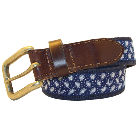 Midnight Navy Mini Gulf Oyster Club Belt