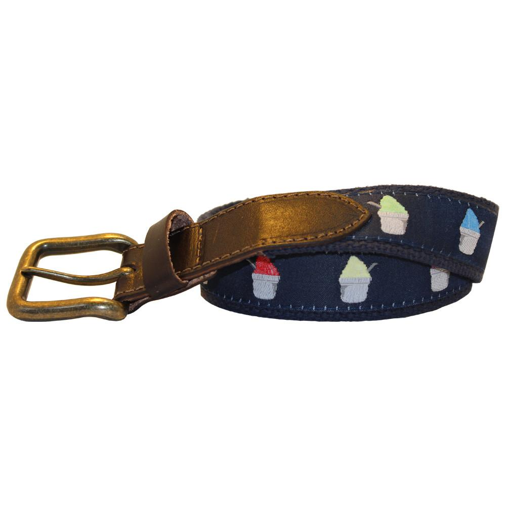 Midnight Navy Snoball Club Belt