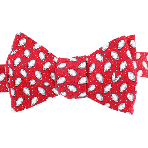 Cayenne Red Boys' Mini Gulf Oysters Bow Tie