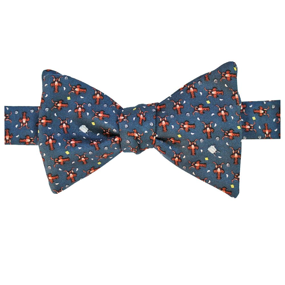 Midnight Navy Crawfish Boil Bow Tie
