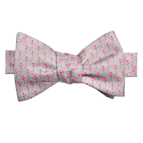 Boys' Flamingos Bow Tie