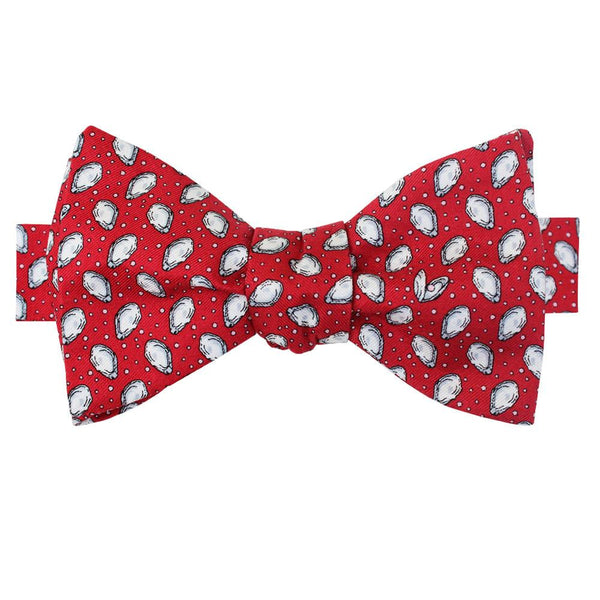 Cayenne Red Mini Gulf Oysters Bow Tie