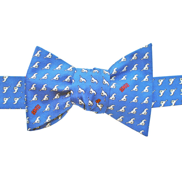 Blue SMU Mustangs Bow Tie