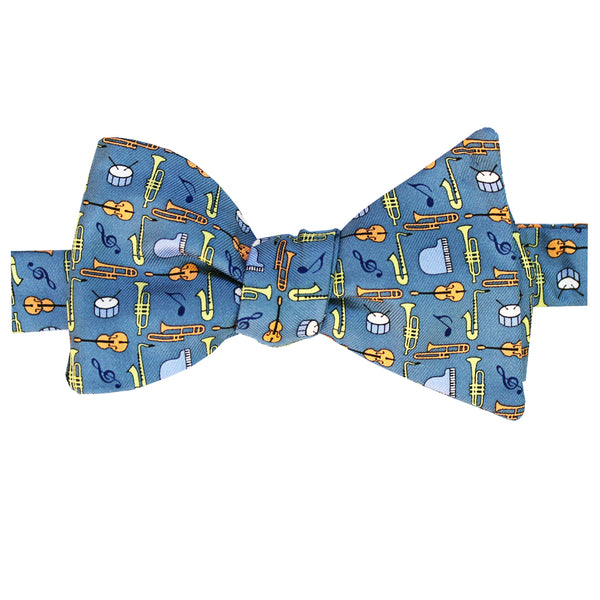 Jazz Instruments Bow Tie