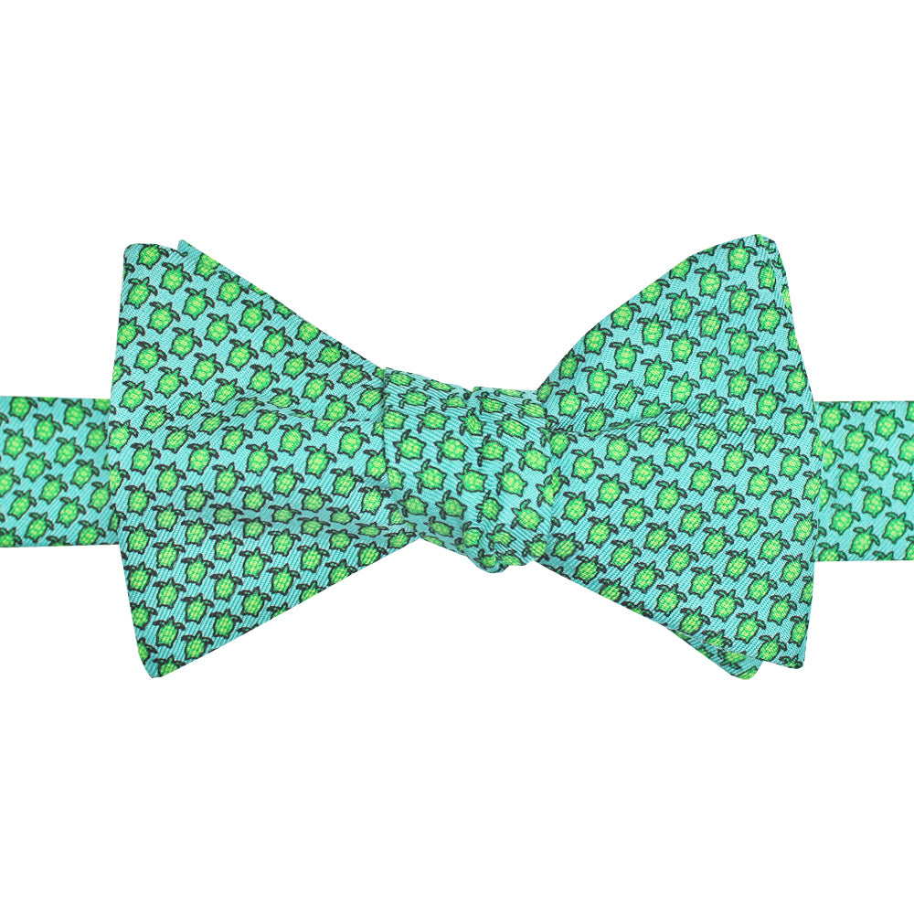 Mini Sea Turtle Bow Tie