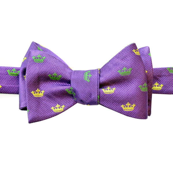 Woven Crown Bow Tie