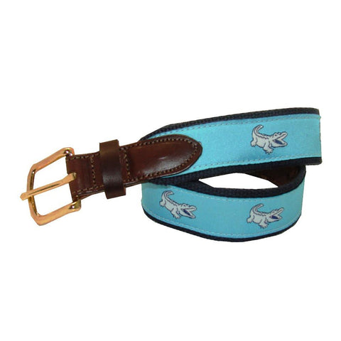 Caribbean Blue Boys' NOLAgator Club Belt
