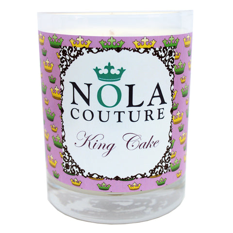 King Cake Candle