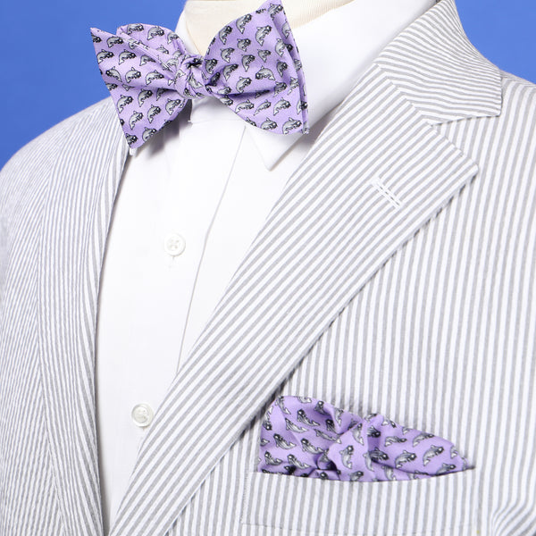 NOLA Couture x Haspel Catfish Boys' Bow Tie