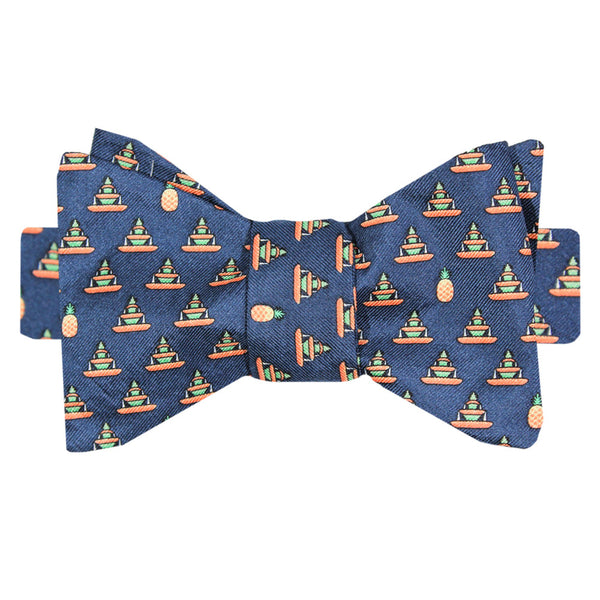Pineapple Fountain Bow Tie