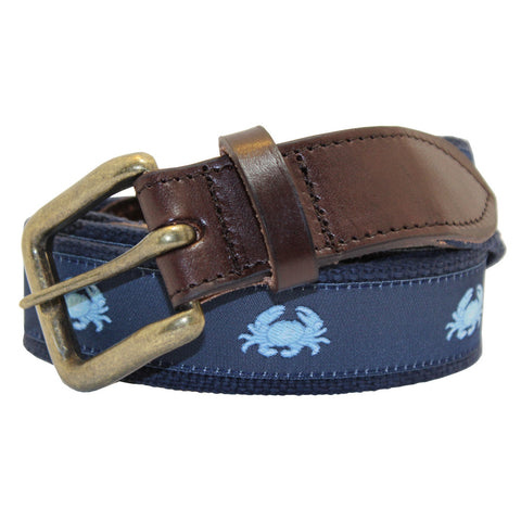 NOLA Navy Boiled Crab Club Belt