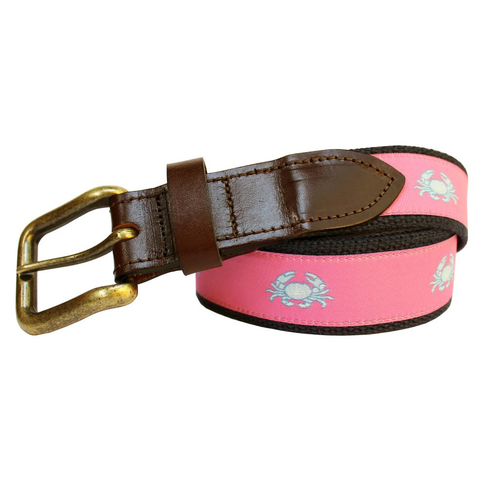 Panama Pink Boiled Crab Club Belt