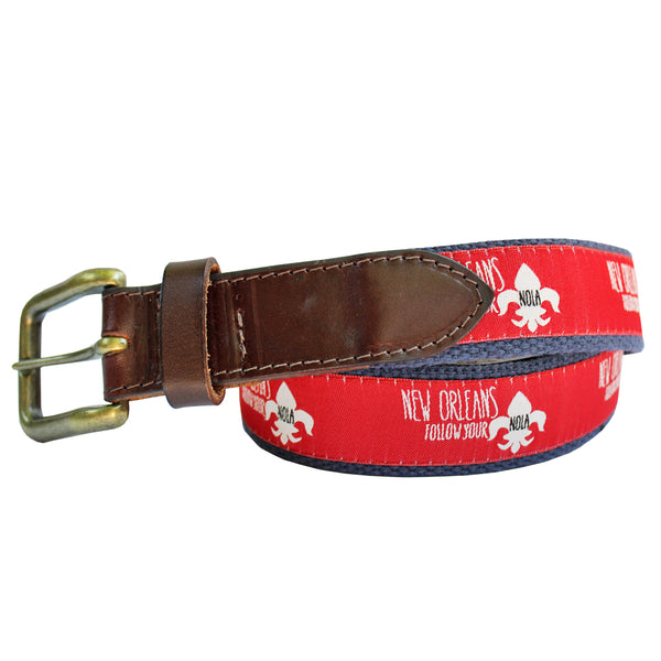 Follow Your NOLA Club Belt