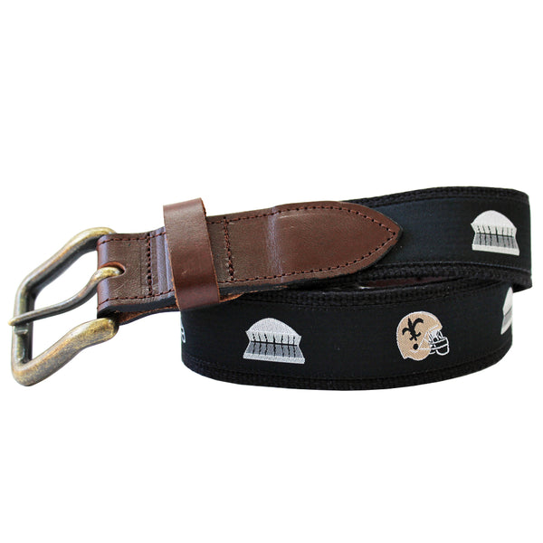 Black Helmet & Dome Club Belt