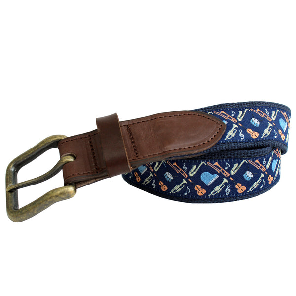 Midnight Navy Mini Instruments Club Belt