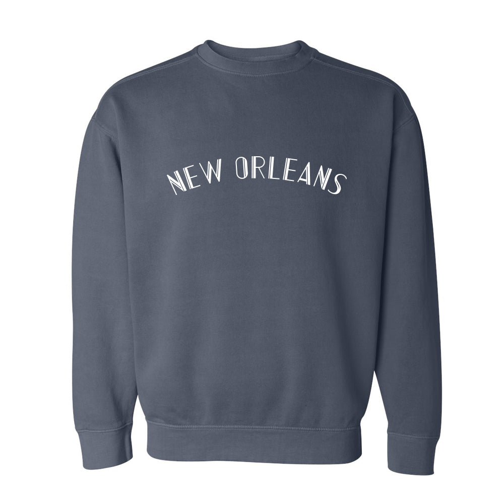 Denim New Orleans Sweatshirt