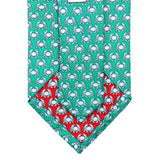 Audubon Green Boiled Crab Tie