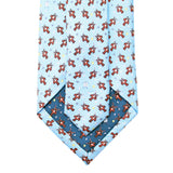 Gulf Blue Crawfish Boil Extra Long Tie