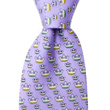 Boys' Mardi Gras Crown Tie
