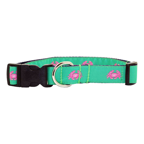 Audubon Green Boiled Crab Dog Collar