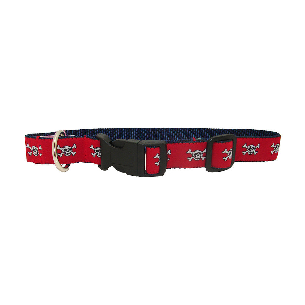 Cayenne Red Pirates Alley Dog Collar