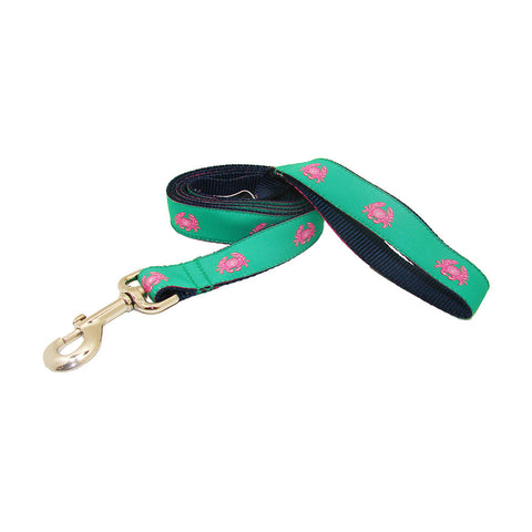 Audubon Green Boiled Crab Dog Leash
