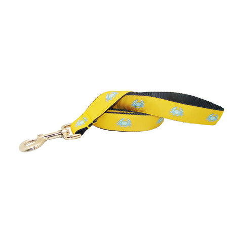 Sunshine Yellow Boiled Crab Dog Leash