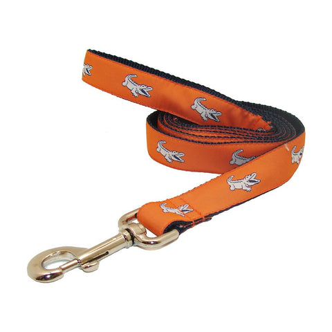 Citrus Orange NOLAgator Dog Leash