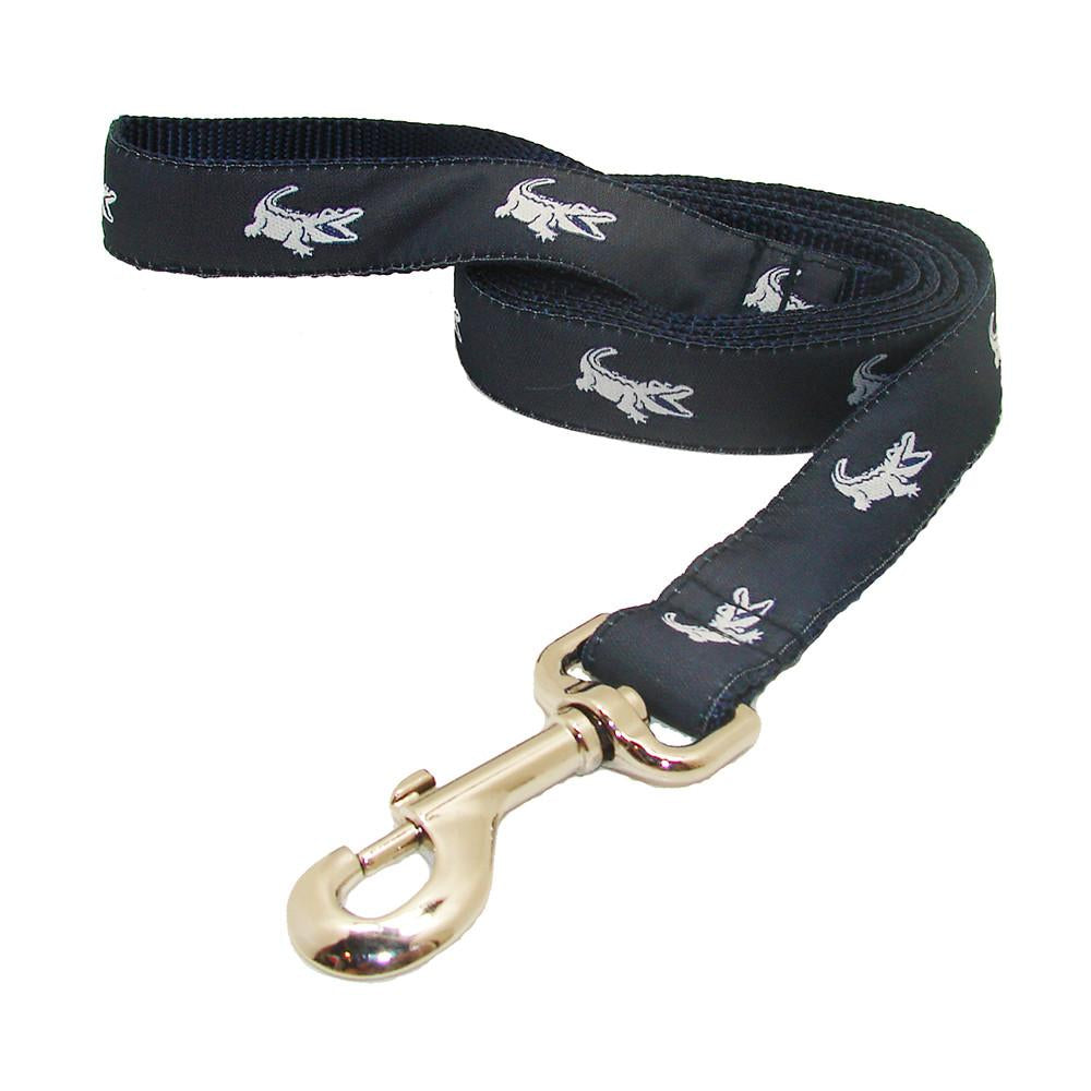 NOLA Navy NOLAgator Dog Leash