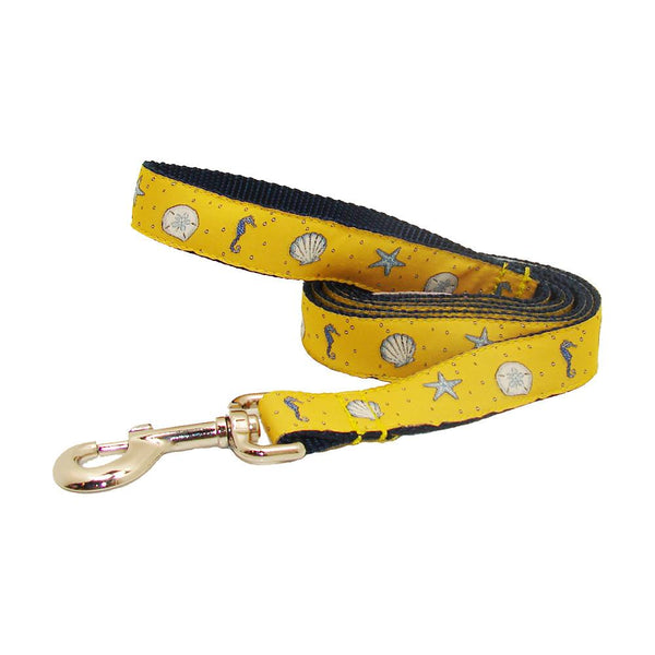 Sunshine Yellow Sea Critters Dog Leash