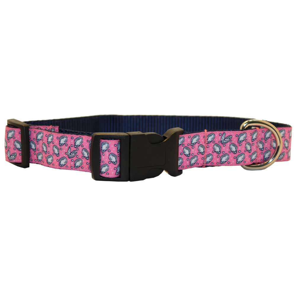 Mini Gulf Oyster Dog Collar