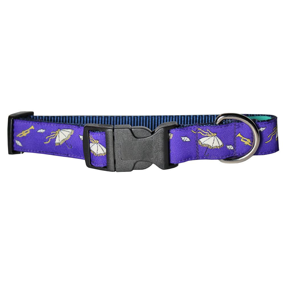 Regal Purple Second Line Dog Collar