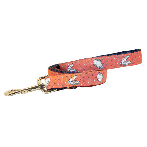 Étouffée Orange Gulf Oyster Dog Leash