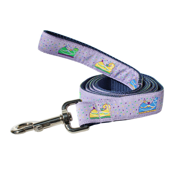 Mardi Gras Floats Dog Leash