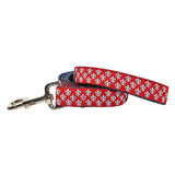 Mini Fleur de Lis Dog Leash