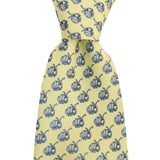 King Cake Yellow Dr. Hales Caterpillar Tie