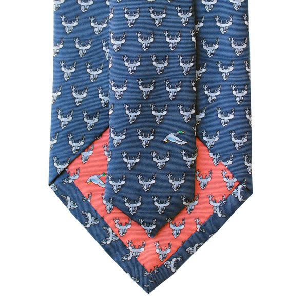 Ducks and Bucks Extra Long Tie