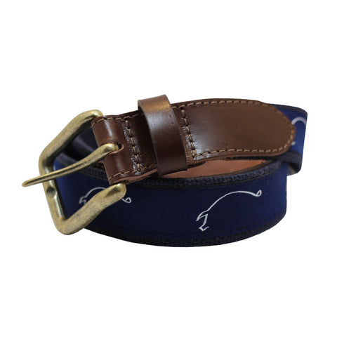Midnight Navy Hogs for the Cause Club Belt