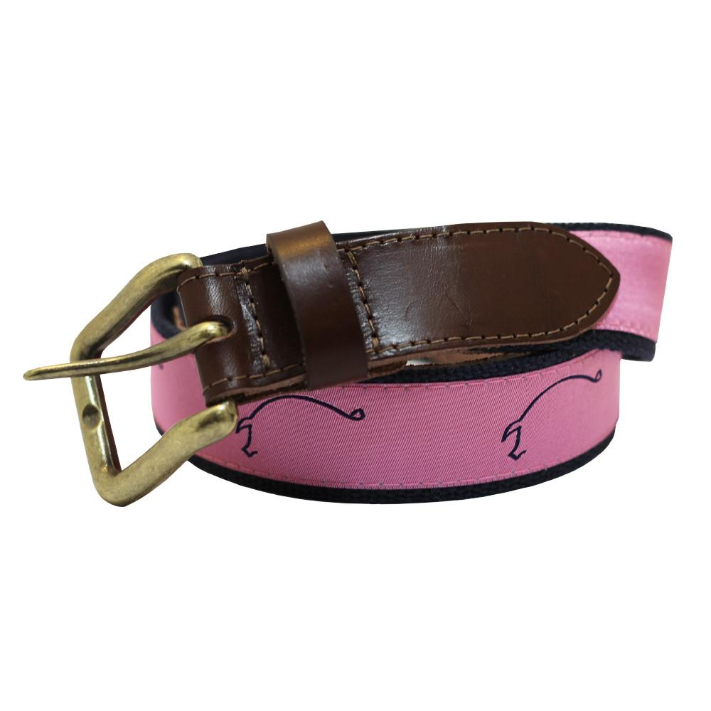 Pink Hogs for the Cause Club Belt