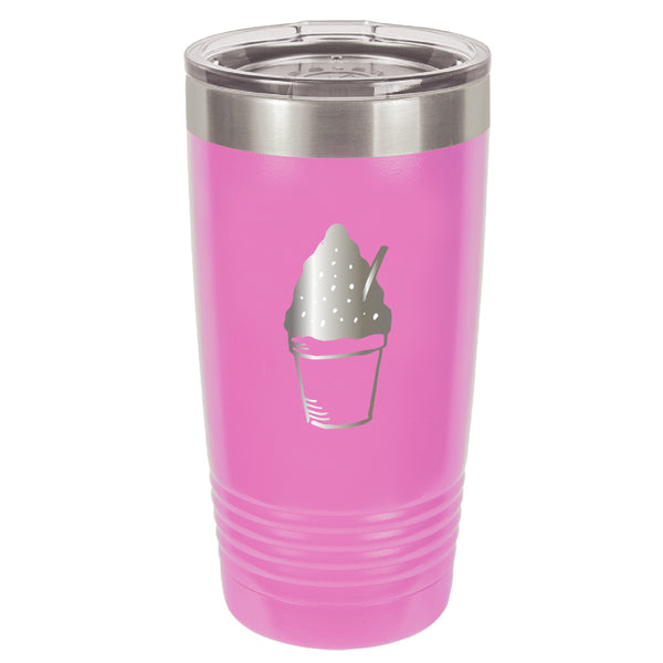 Stainless Steel Snoball Coffee Tumbler