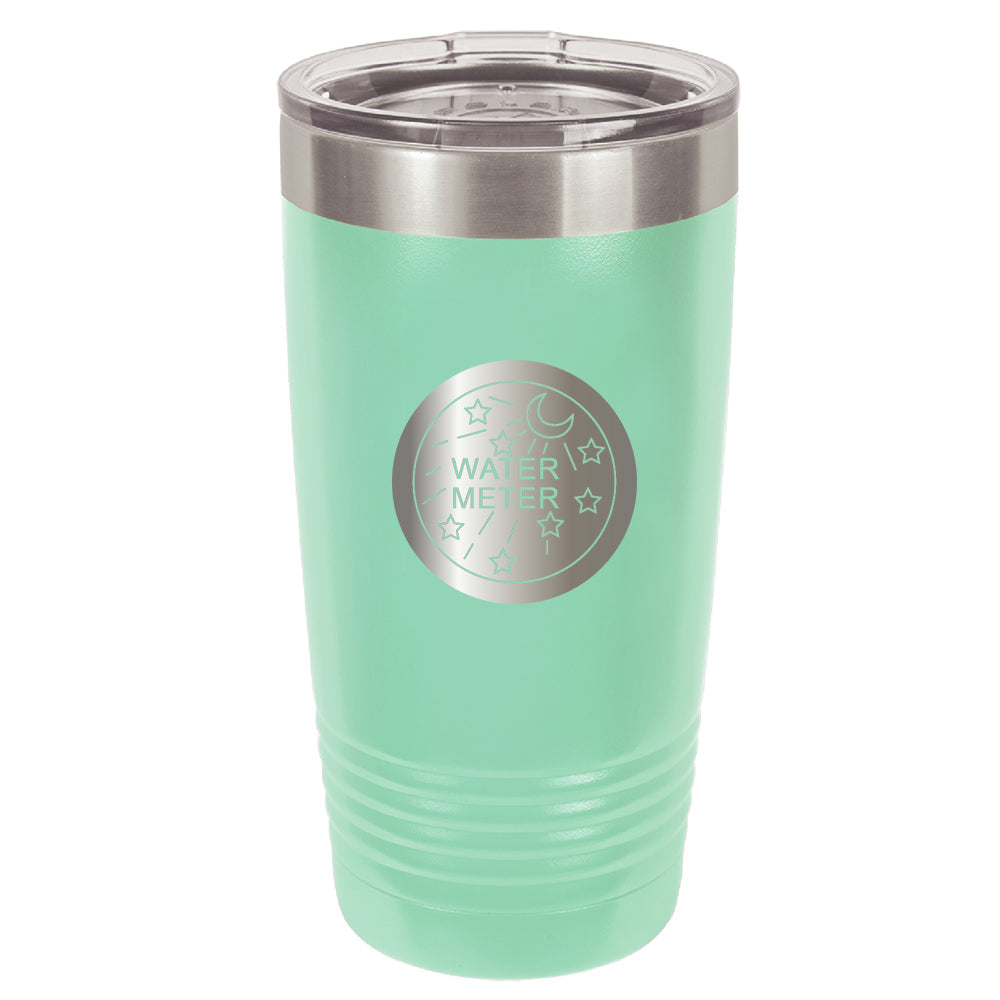 Stainless Steel Water Meter Coffee Tumbler