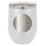 Stainless Steel Water Meter Stemless Wine Glass