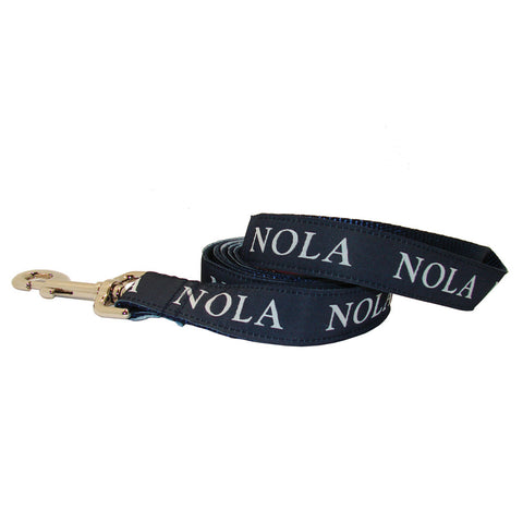 NOLA Navy NOLA Dog Leash
